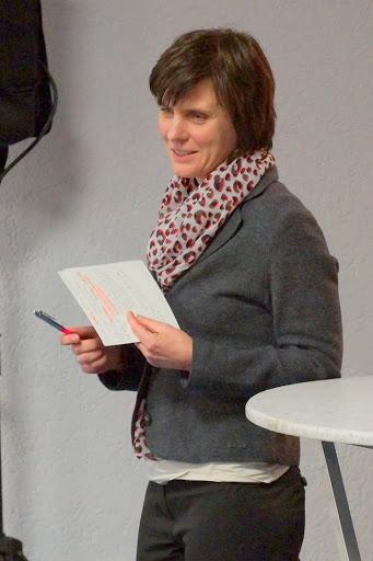 Frau Soboth vom Institut für Regionalmanagement, Gießen